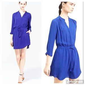🌈 Aritzia T Babaton Bennett silk shirt dress